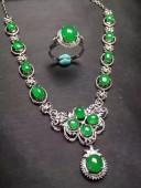 高冰陽綠套裝晚裝鏈